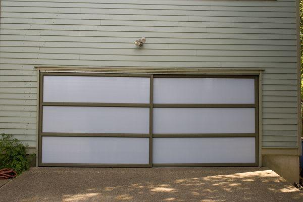 Garage doors after