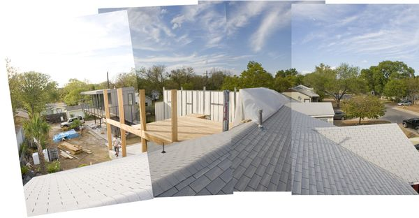 Floor decking pano