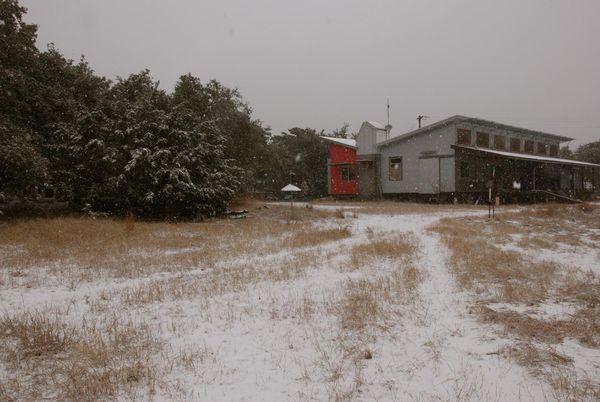 Dacha snow
