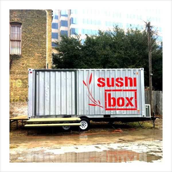SushiBOX logo container architecture